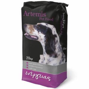 Ξηρά Τροφή Artemis Ενέργειας 20kg