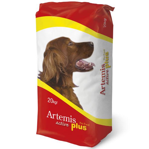 Ξηρά Τροφή Artemis Active Plus 20kg Για Σκύλους
