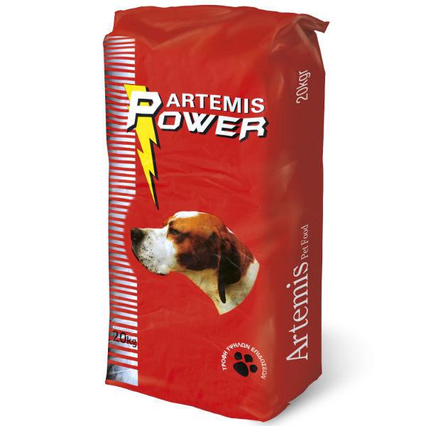Ξηρά Τροφή Artemis Power 20kg Για Σκύλους